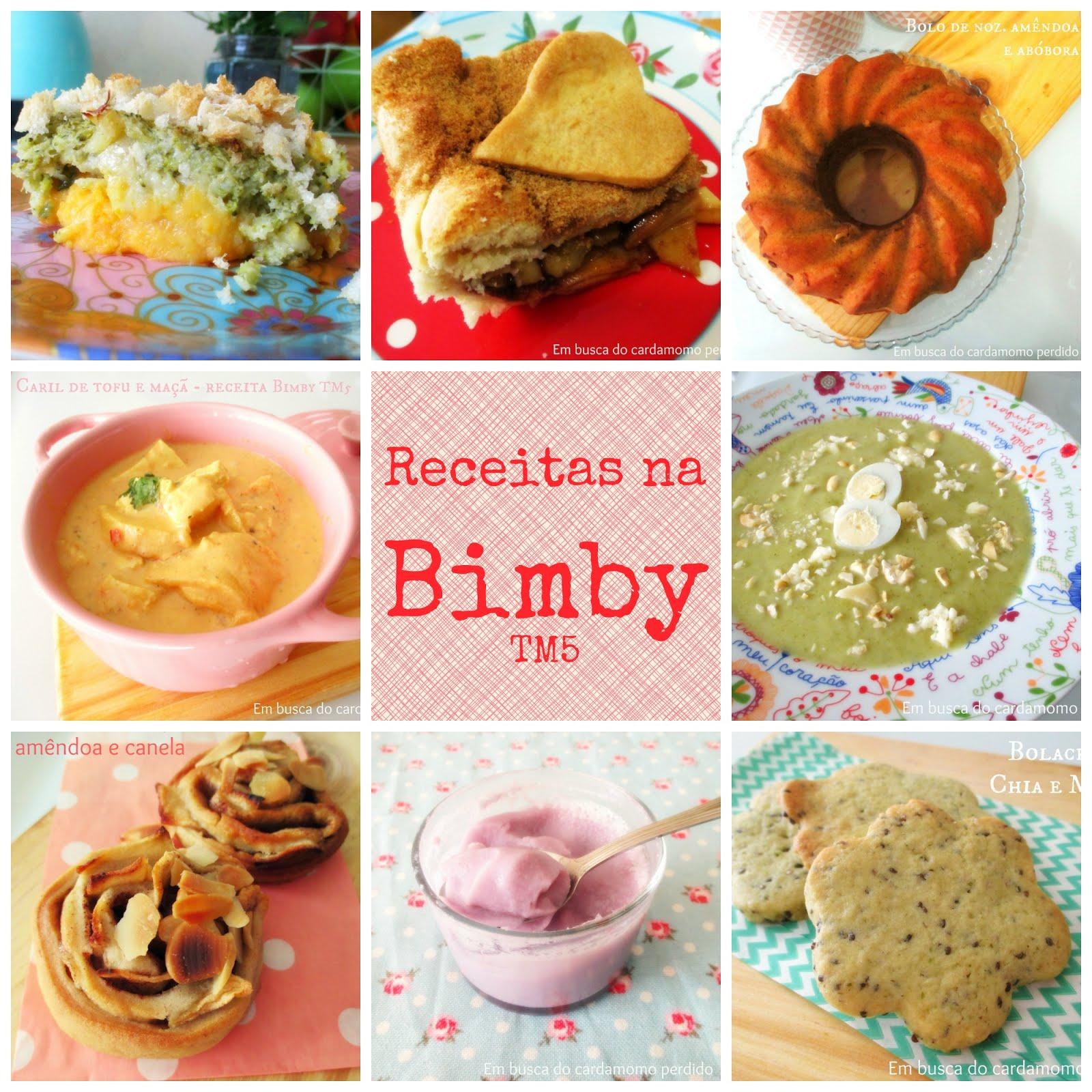 Receitas na Bimby