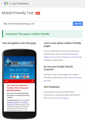 Pass Google's Mobile-Friendly Test