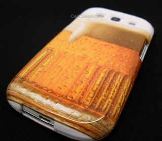 FOR SAMSUNG GALAXY S 3 III S3 BEER MUG DESIGN HARD COVER CASE