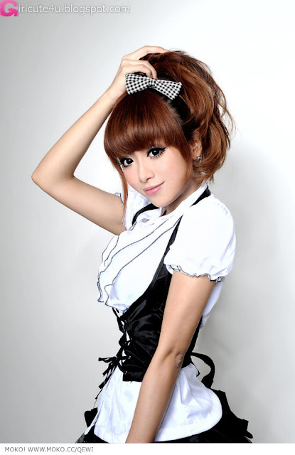 1 Zhang Kaiting - DJ Lady Q-Kate-very cute asian girl-girlcute4u.blogspot.com