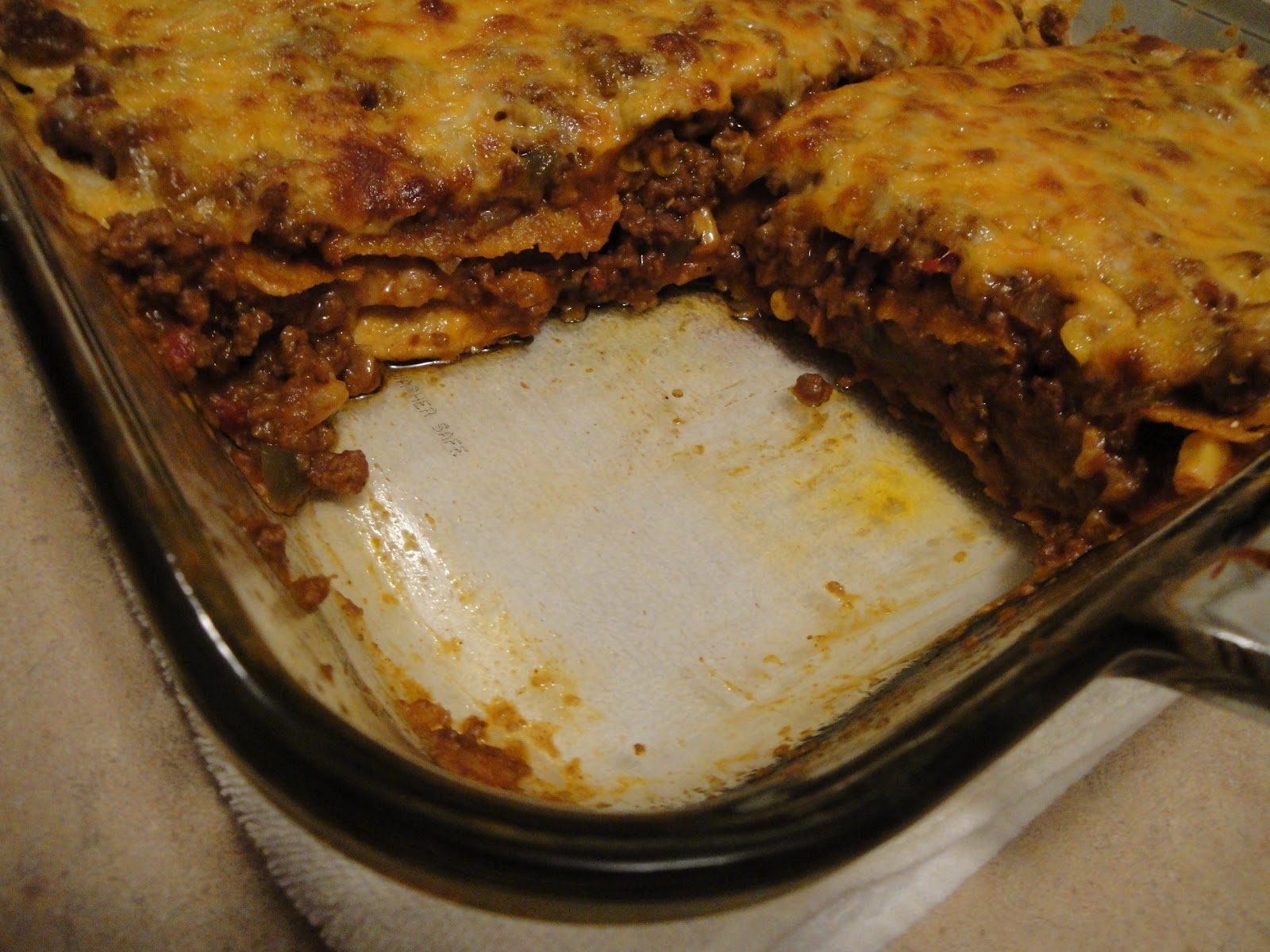 Mexican Lasagna II Recipe — Dishmaps