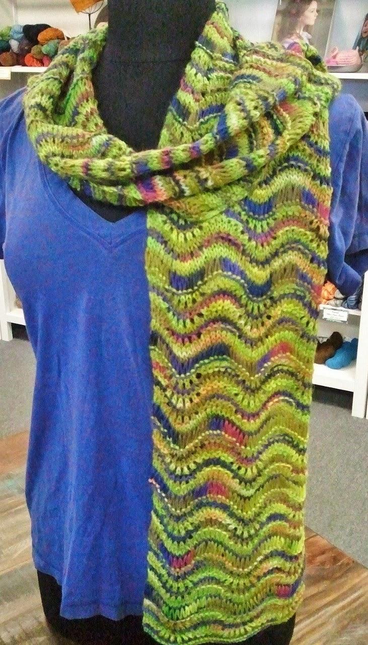 Knitted Scarf Patterns Alpaca Yarn : Jimmy Beans Wool Blog: Soft, fluffy ALPACA!!! Misti Alpaca Trunk show has arr...