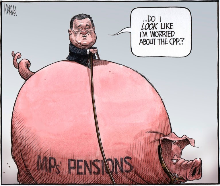 Bruce MacKinnon: pensions.