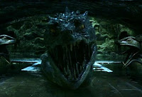 The Basilisk in Harry Potter and the Chamber of Secrets
