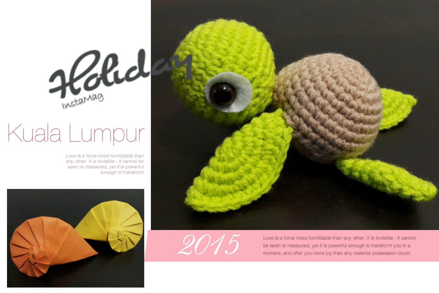 Lucas Craft House: Free Crochet Pattern for Little Sea Turtle ...