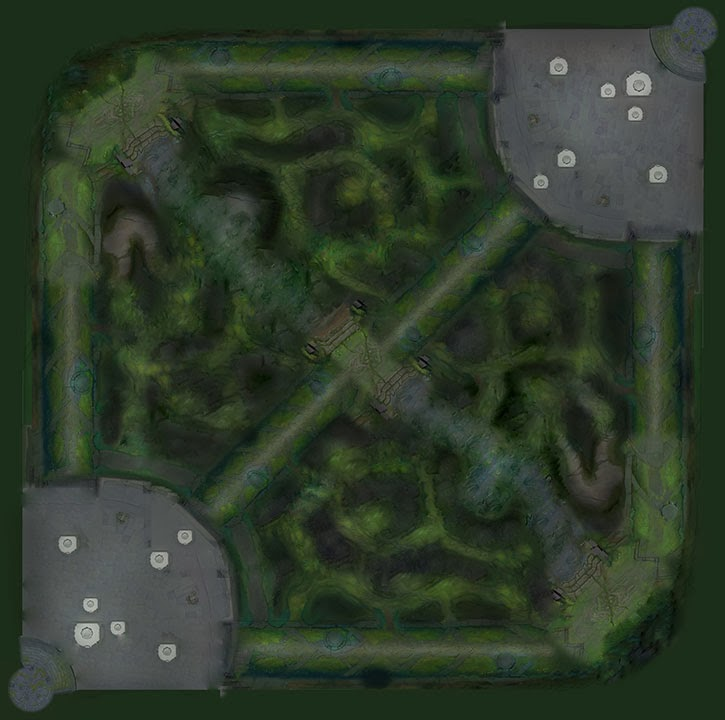 NOVO MAPA SUMMONERS RIFT LOL