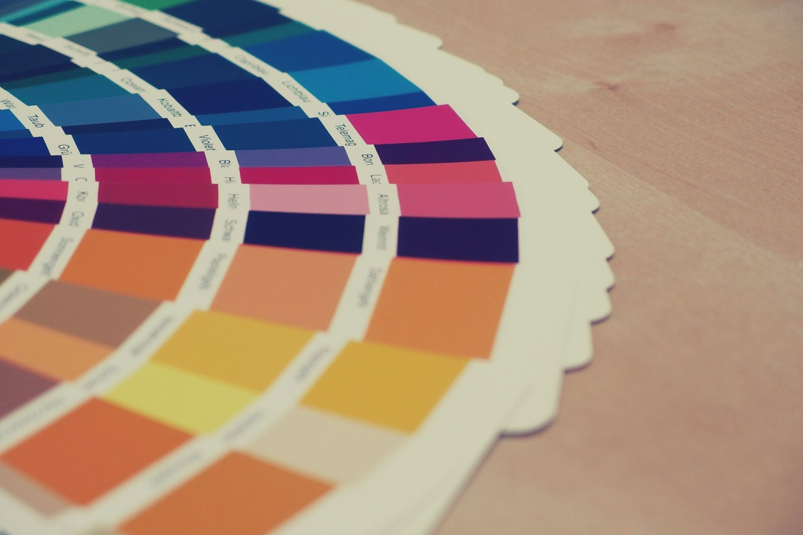 Colour charts - care home decoration - motherdistracted.co.uk