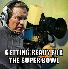Getting ready for the super bowl