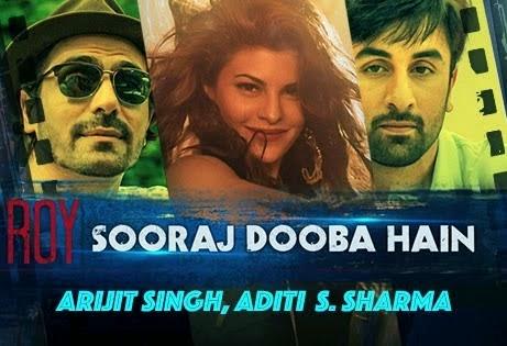 Sooraj Dooba Hai - Guitar Chords - Roy - Arijit Singh