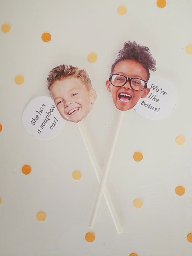 DIY Kids Say... Birthday Cake Toppers | Sweet Tooth blog
