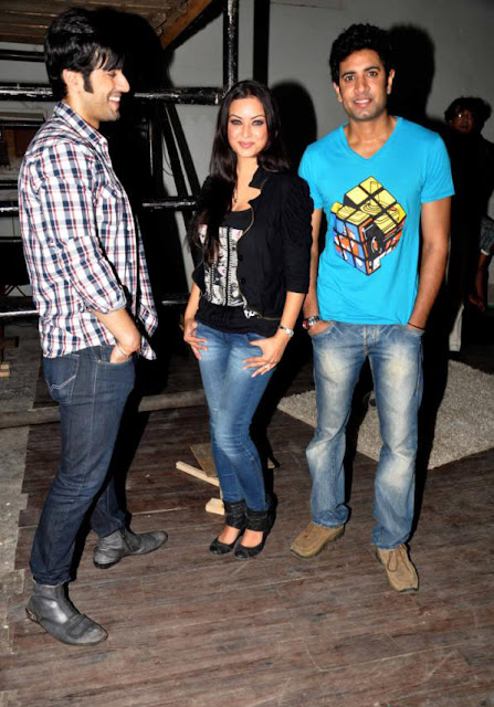 Sadda Adda Movie Promotions At Mehboob Studio leaked images