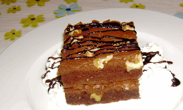 brownie de cocolate