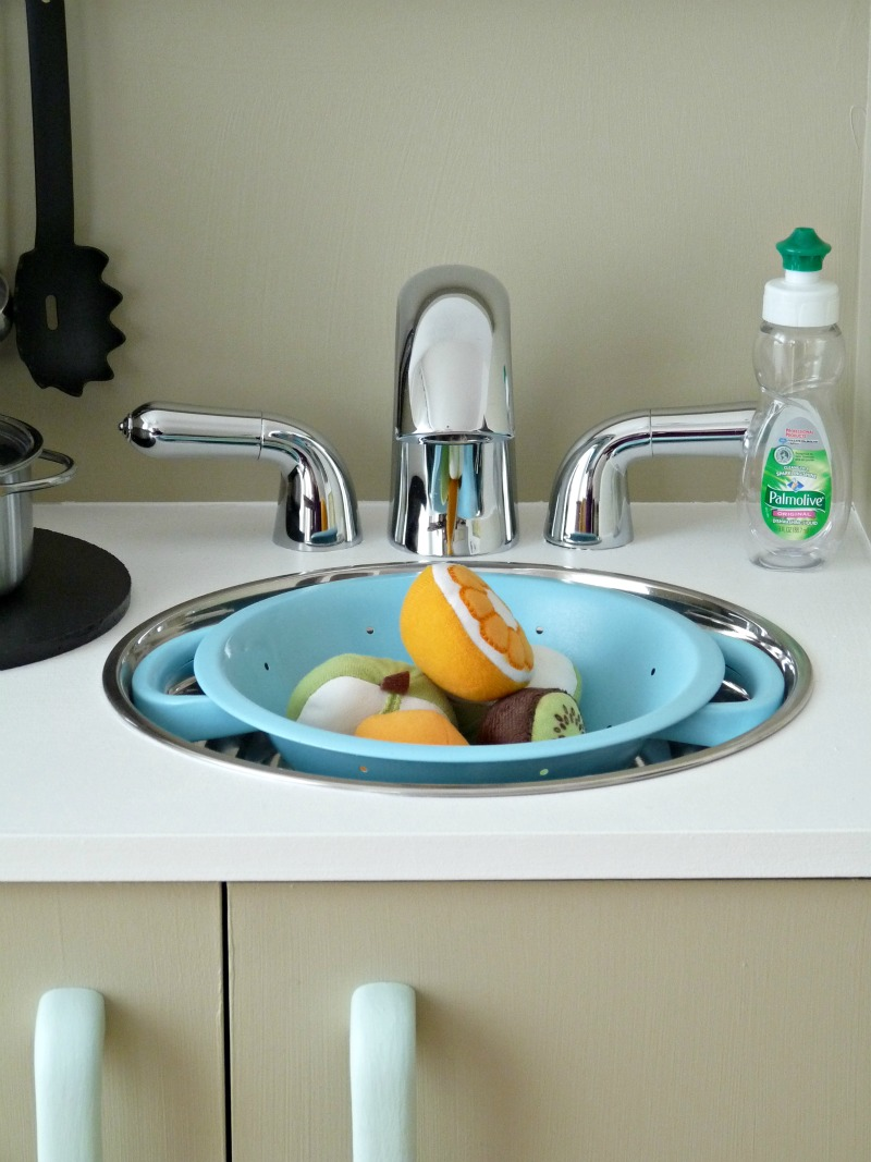 DIY play sink