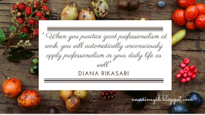 diana rikasari, quote, work, attitude