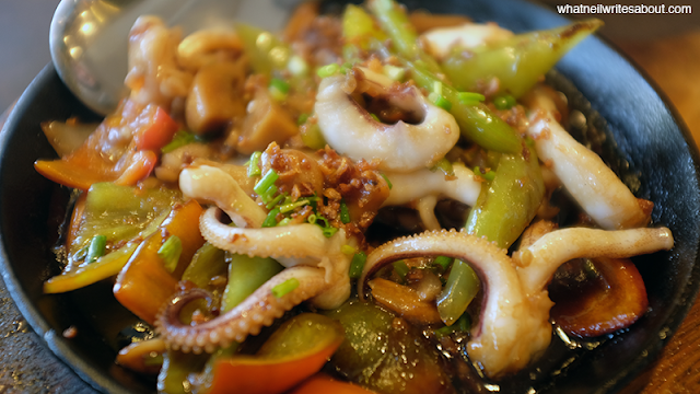 Neil Writes About Andres Restaurant Philippines Review Sizzling Calamarez