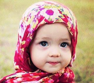 Foto bayi muslimah cantik banget berhijab