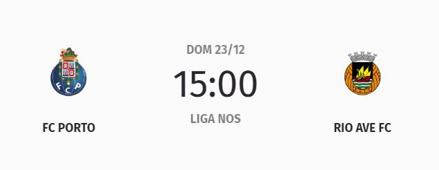 23 de dezembro, 15h00: Porto