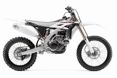 2012 Yamaha YZ250F White Motocross - Offroad