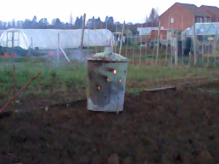 burning garden rubbish