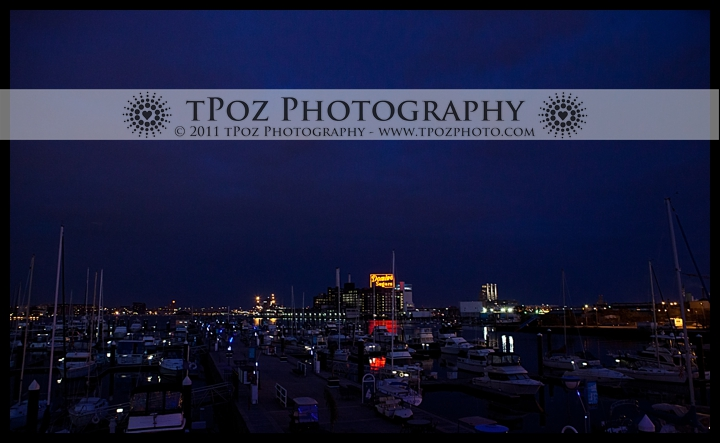 harbor view from Tabrizi's in Baltimore