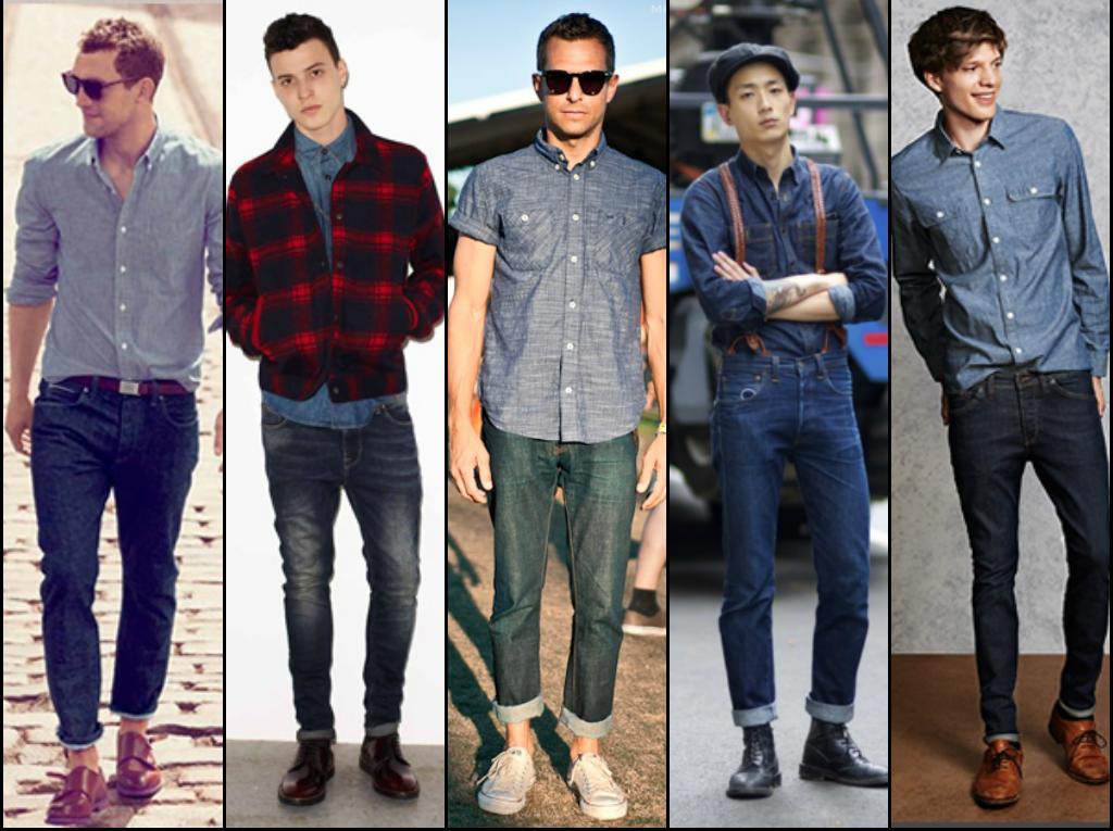 como-combinar-camisa-vaquera-men-style