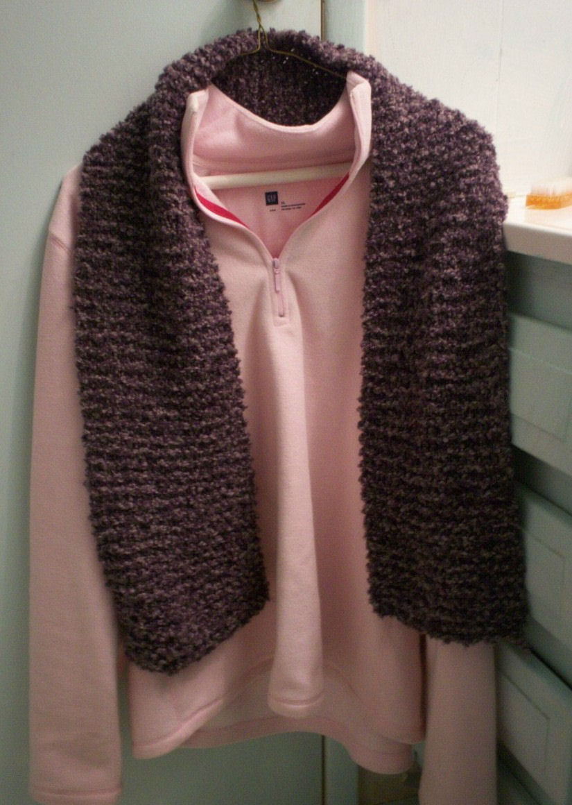 Boucle Knitting Patterns : Knitting Patterns for the beginner or the advanced knitter: Scarfs Berna...