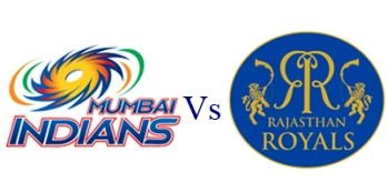Rajasthan Royals vs Mumbai Indians IPL 6 Match