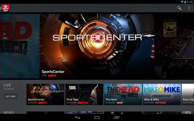 Live match stream the NBA Playoffs on Android Mobile Phone
