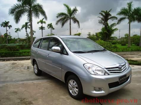Chuyên cho thuê xe 7 chỗ Toyota Innova