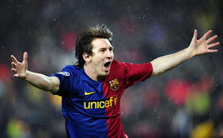 Messi the football player