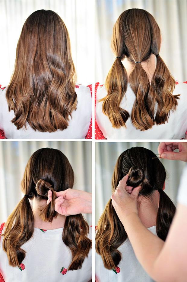 Peinados faciles para hacerse uno misma
