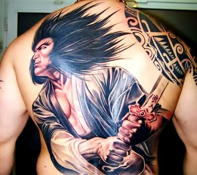 tattoo samurai e significados