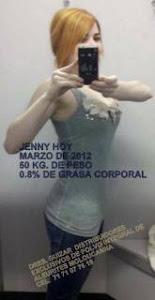 JENNY  HOY CON 50 KG. DE PESO