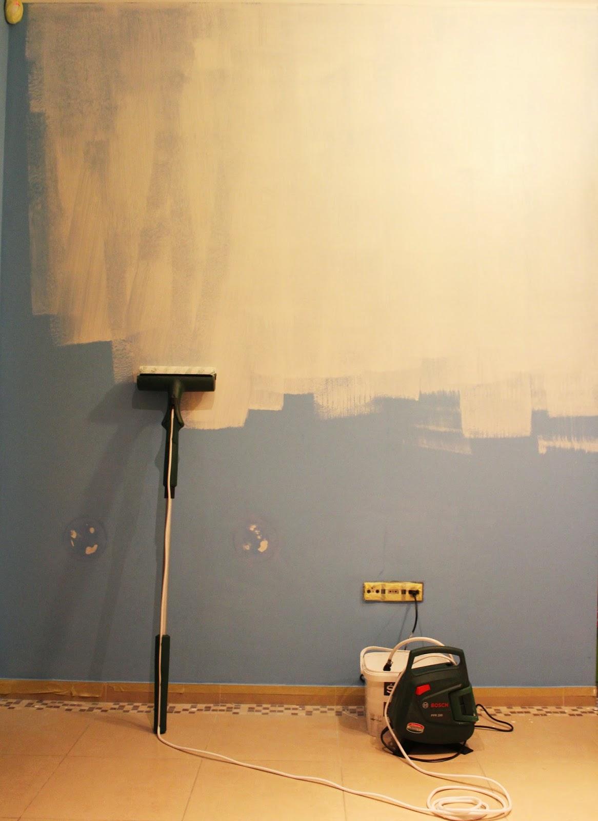 wałek bosch,kompresor do malowania ścian,malowanie ścian szybko i łątwo,krok po kroku jak malowac ściany,blog DIy krok po kroku malowanie ścian,DIY malowanie na biało,wnętrza,design,interiors