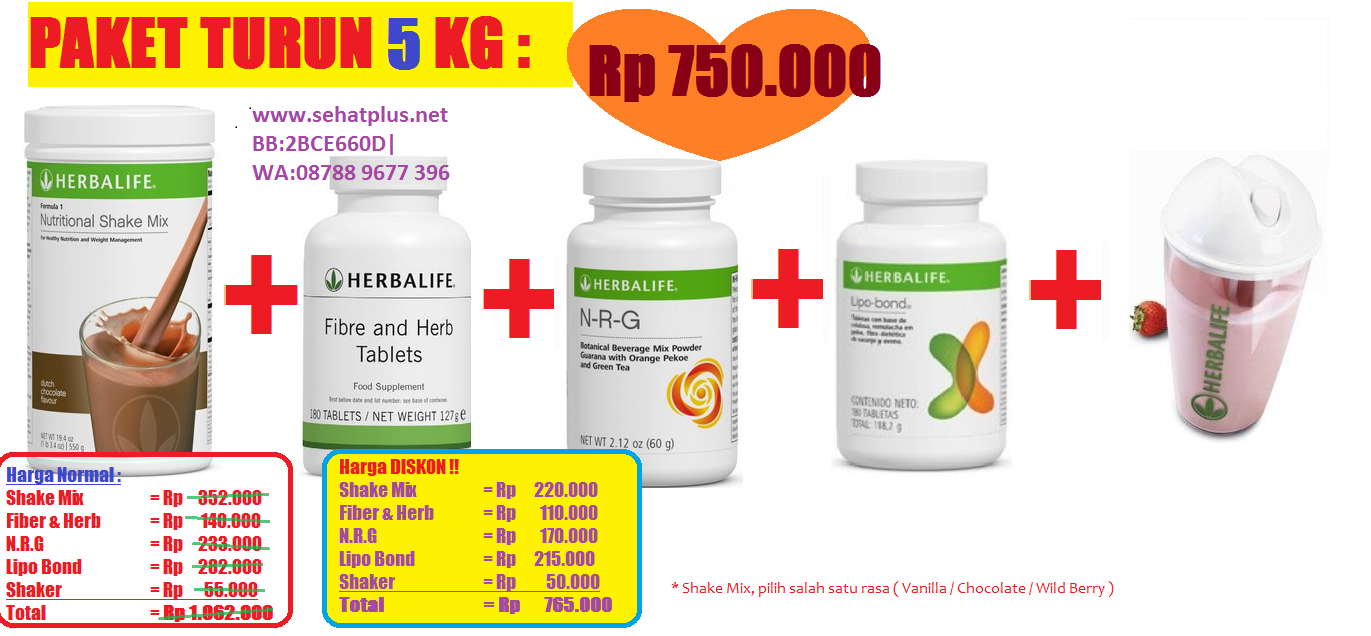Berdiet - Promo Produk Herbalife Indonesia Murah Hemat discont untuk Cara Diet Cepat dan Sehat