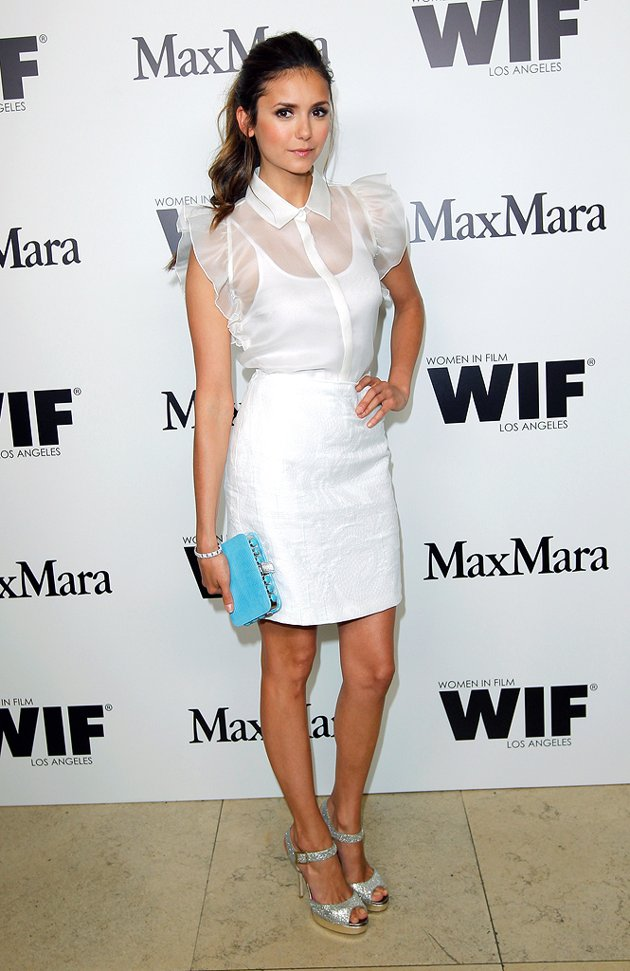 Actress Dress-Up Picture of Nina Dobrev