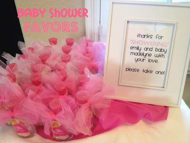 Baby Shower 'FAVOR' idea.