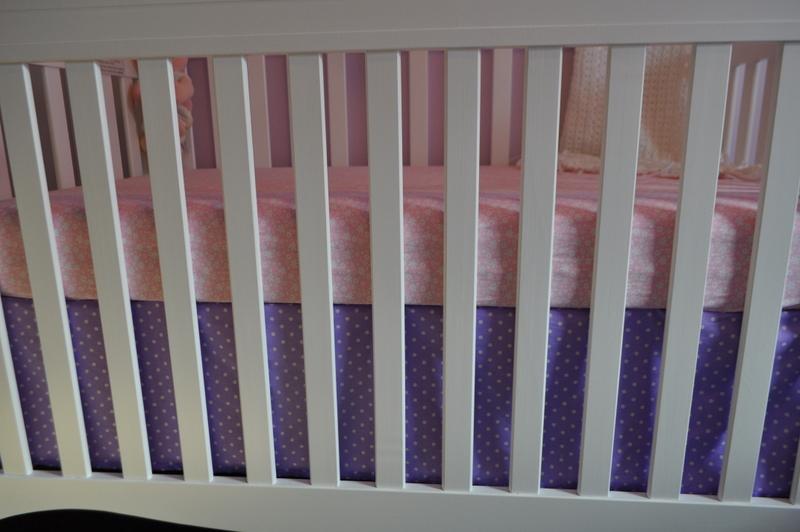 Making Bed Skirt For Crib