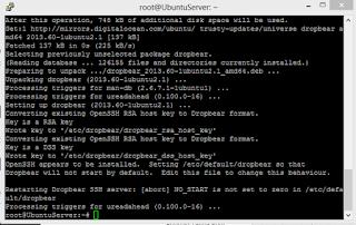 install Dropbear di Ubuntu server