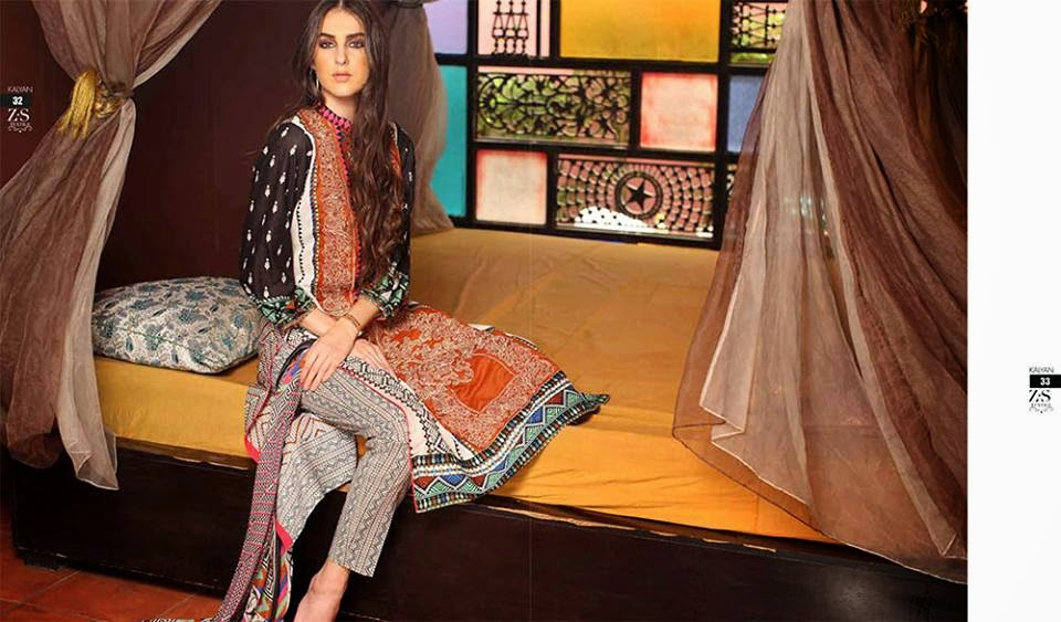 Kalyan Designer Lawn Collection 2015