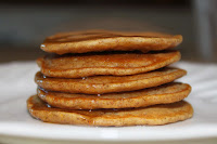 Pumpkin Wheat Pancakes