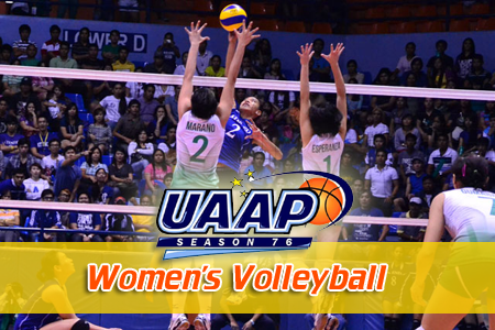 UAAP Season 76 Women's Volleyball Schedule