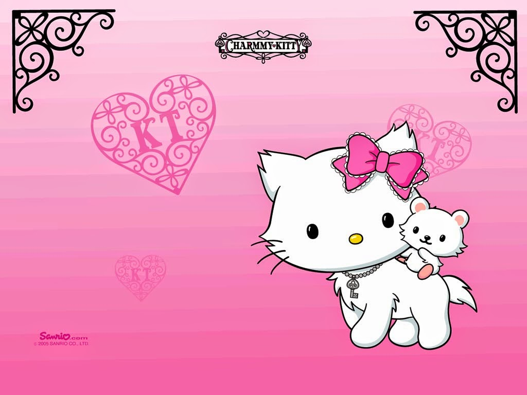 Good Wallpaper Hello Kitty Love - Charmy-Kitty-Wallpaper-Pink-Background  You Should Have_711320.jpg