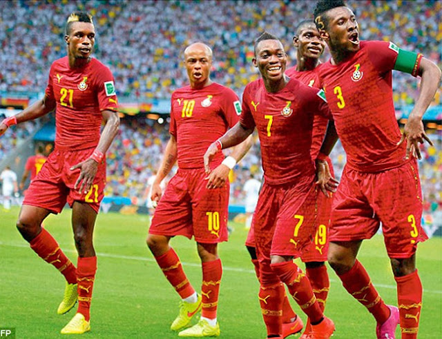 Ghana ranked Africa's second best team by FIFA