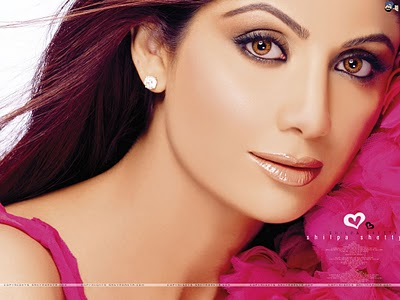 Shilpa Shetty Face close up Wallpapers