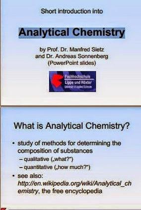 Analytical Chemistry by Prof. Dr. Manfred Sietz and Dr. Andreas Sonnenberg