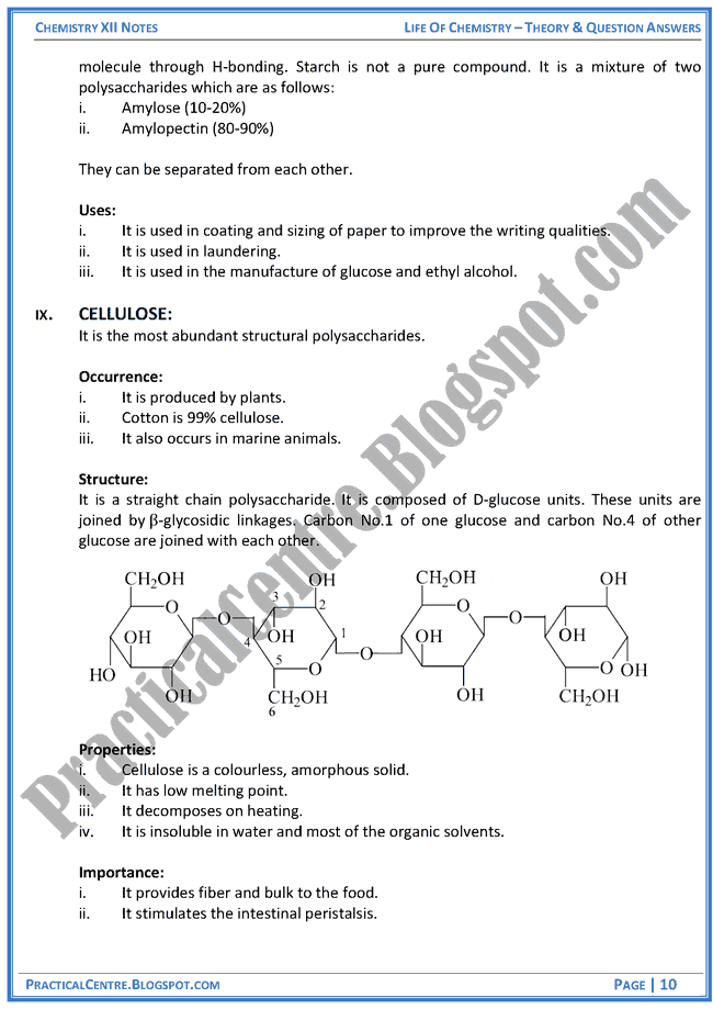 life-of-chemistry-theory-and-question-answers-chemistry-12th
