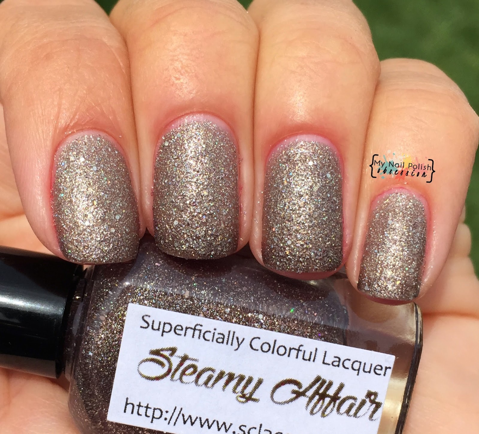 Superficially Colorful Lacquer Steamy Affair