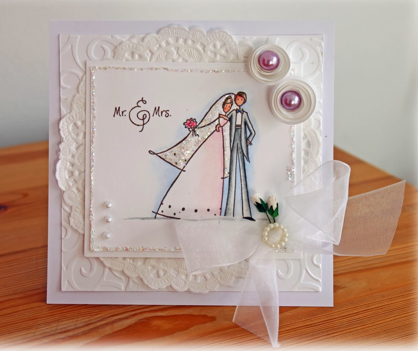 Wedding Card Beautiful Design Photo ~ Charming collection ...