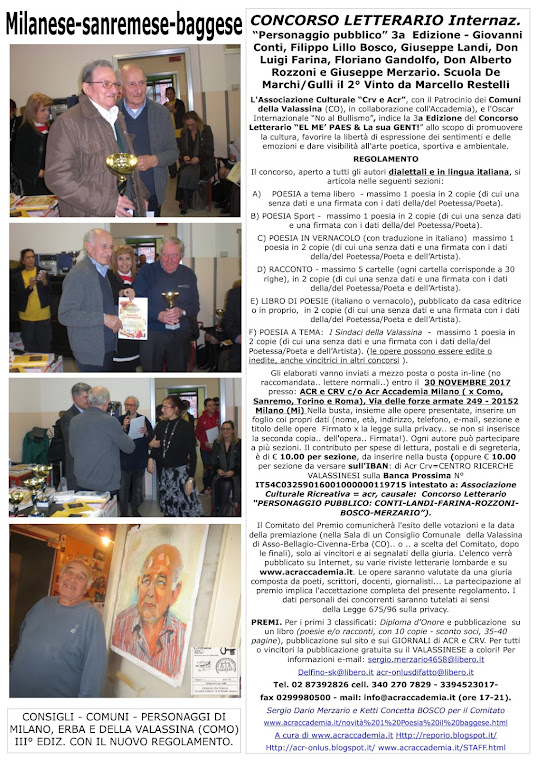 CRV- CENTRO RICERCHE VALLASSINESI-MILANESE